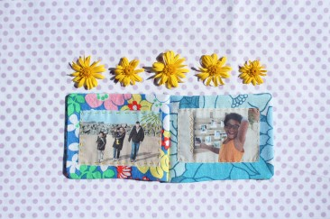 DIY: UN MINI ALBUM PHOTO EN TISSU