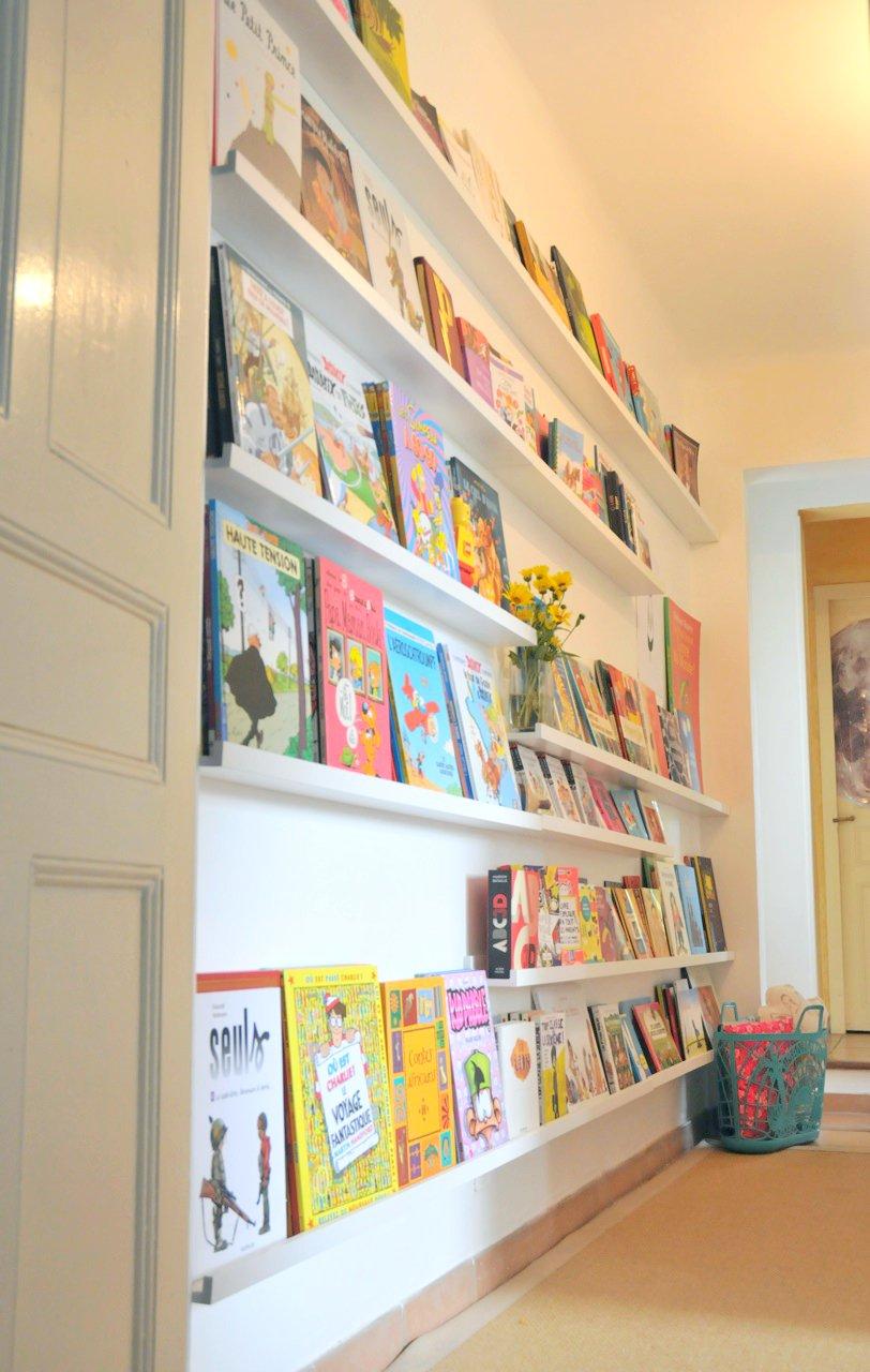 Etagere Pour Chambre Enfant un mur de livres, la bibliothÈque des enfants - ritalechat