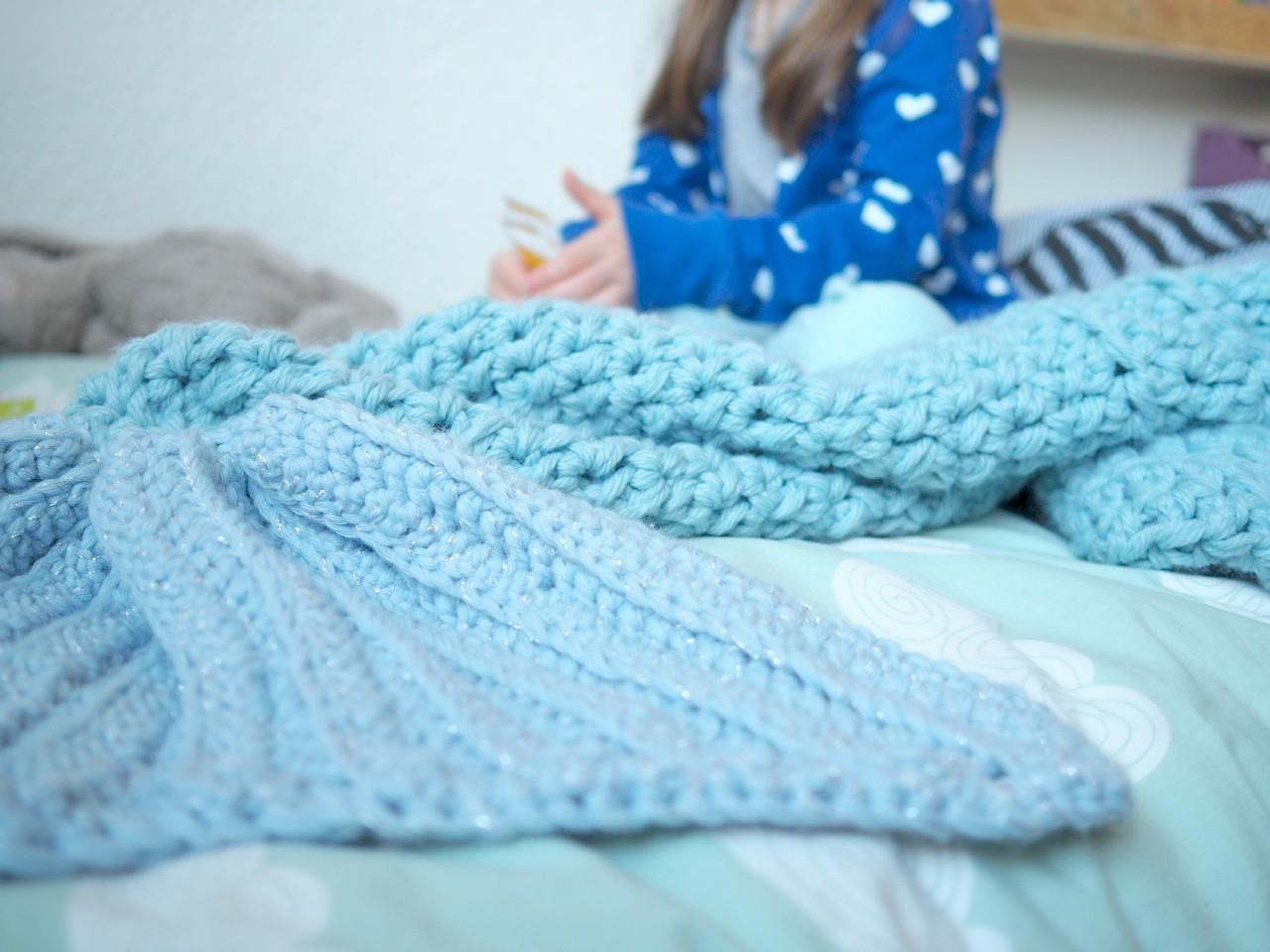 Avec Quoi Je Crochete Une Mermaid Blanket Ritalechat