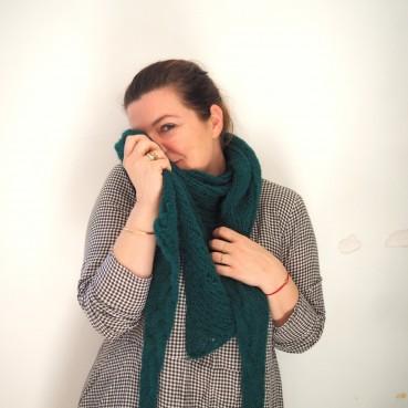 DIY: Une pointe en jersey tresse