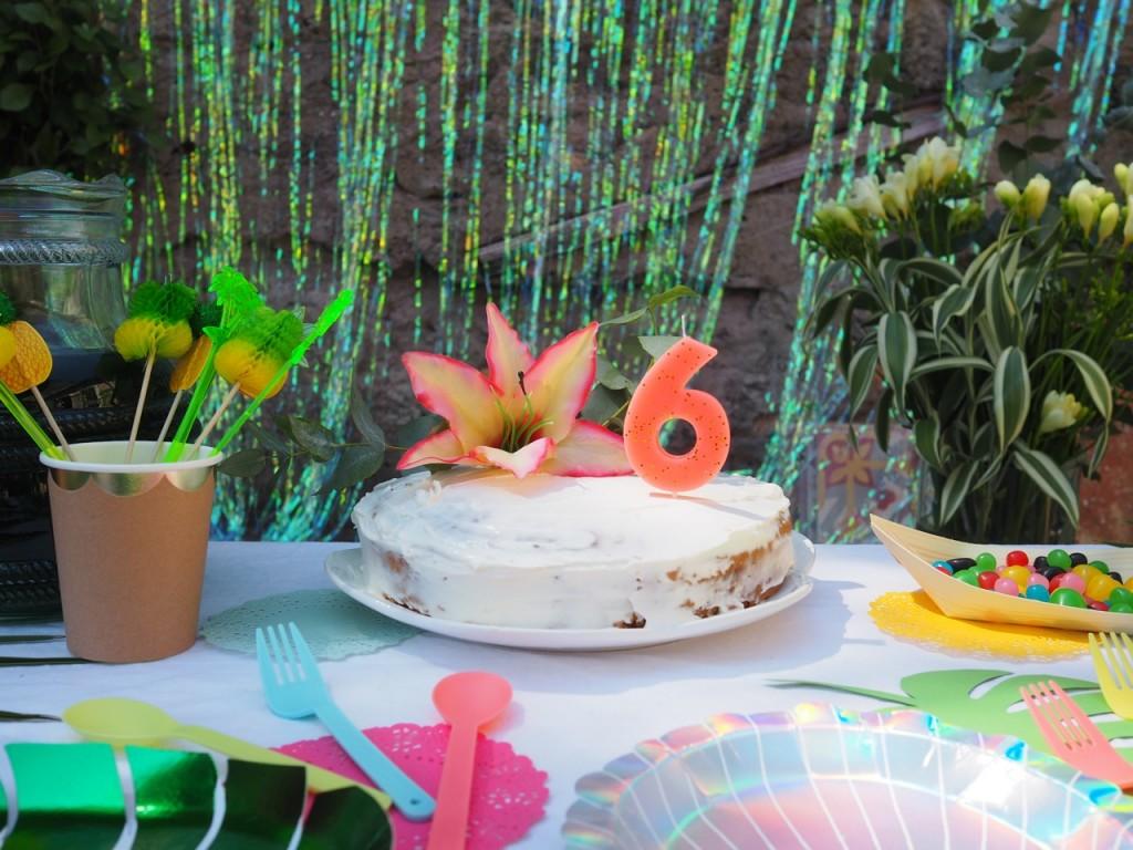 gateau aloha party