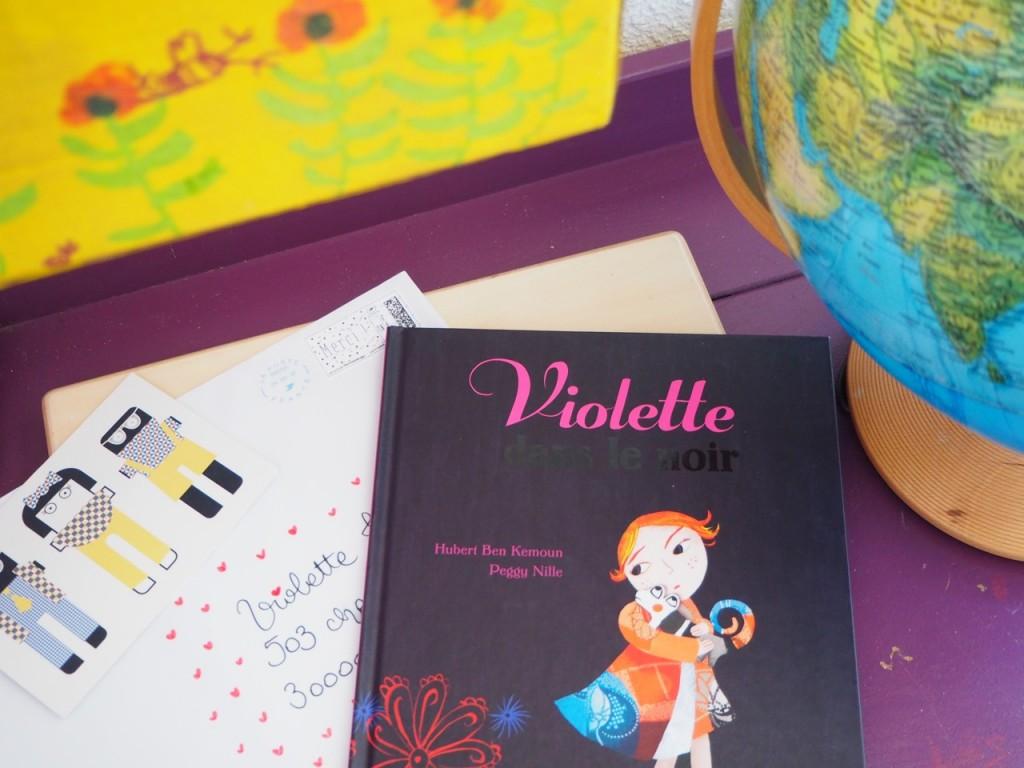 boite aux lettre violette