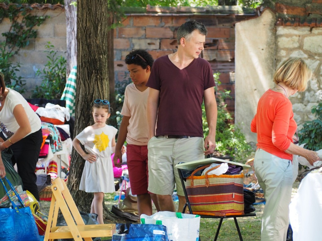 famille brocante