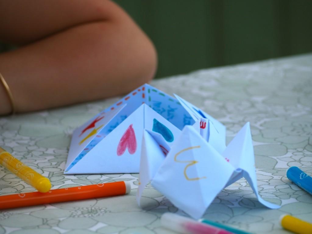 cocote en papier