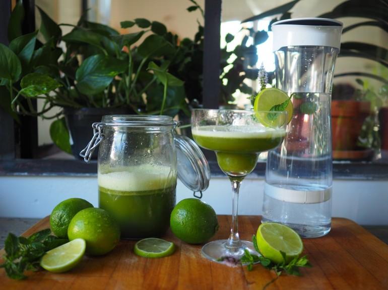 Ma recette Lemon Mint avec Brita