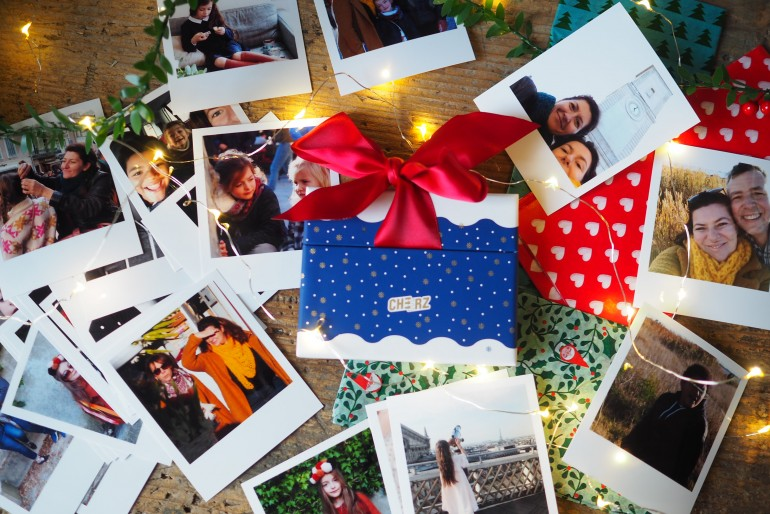 Les jolies attentions de Noël avec Cheerz (code promo)
