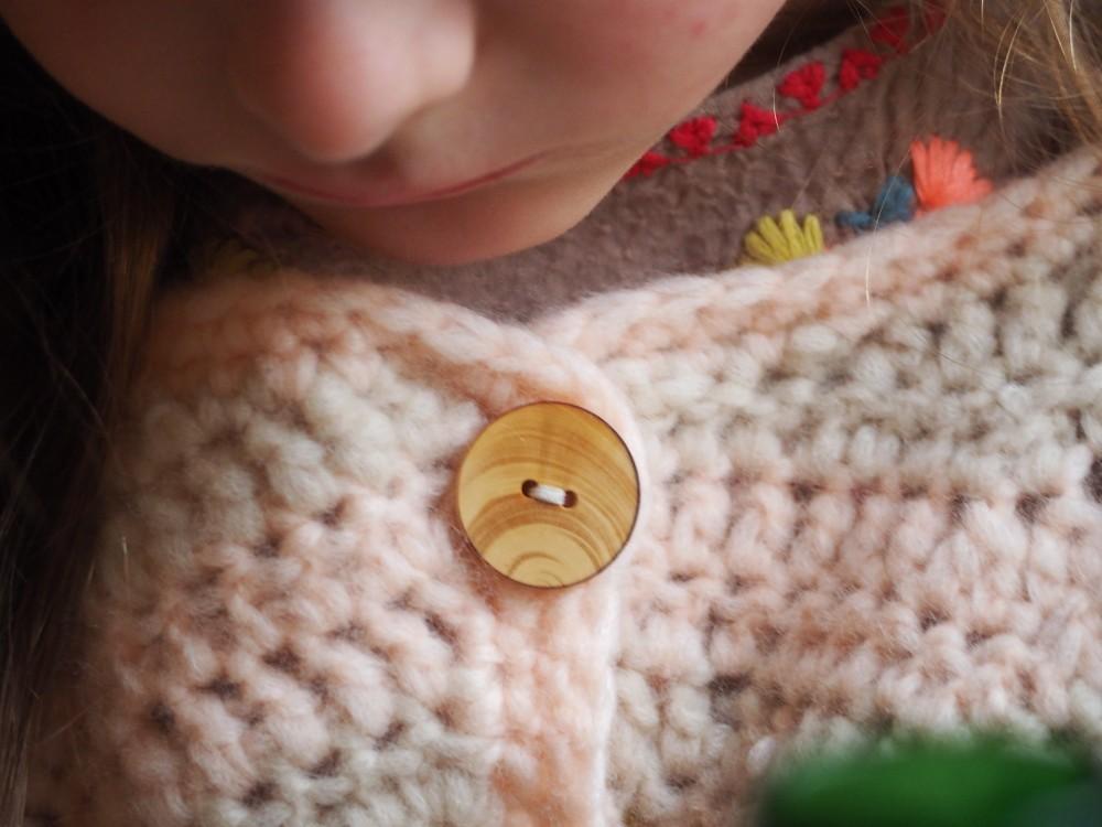 gilet chevron crochet