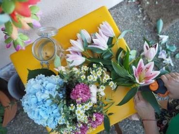 La pièce aux fleurs