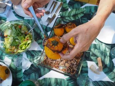 La cuisine pour les nuls: les légumes farcis.