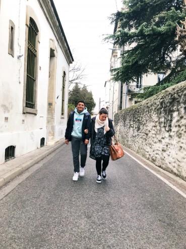 Les fossettes de la rue des jardins